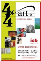 Open Studios Dec. 1 +2