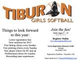 Girls' Softball – Register by Dec.15th