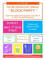 Block Party * 2-5pm Sunday * Juno!
